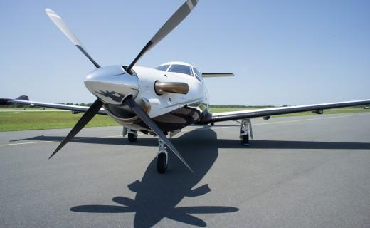 Pilatus turboprop aircraft